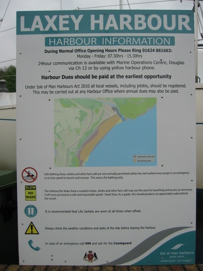 Harbour Sign